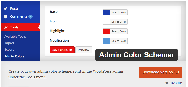 How to control or change wordpress default admin color scheme for ...