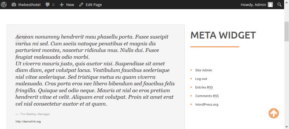 how to change a widget in wordpress