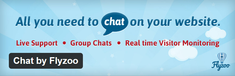 Flyzoo free live chat plugin WordPress