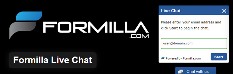 formilla live chat support free wordpress plugin