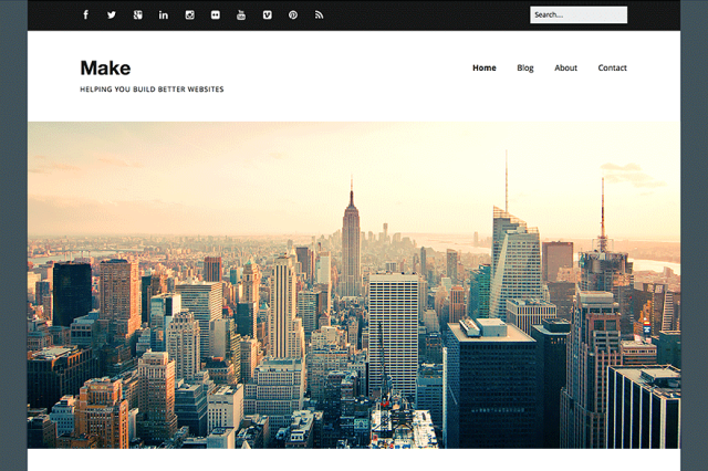 make - free wordpress theme of 2014