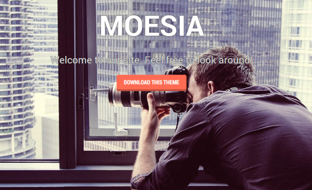 moesia free wordpress theme of 2014