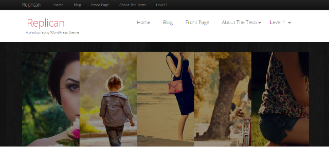 replican - free wordpress theme of 2014