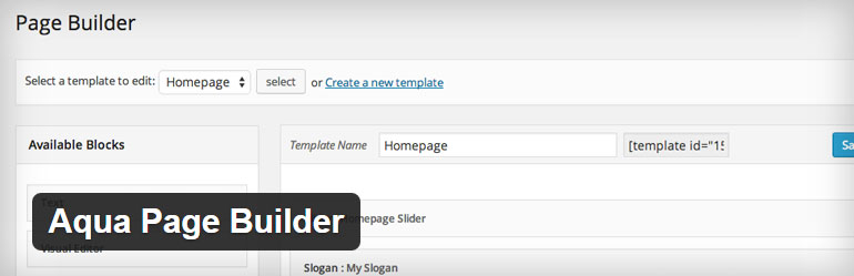 Aqua Page Builder Free WordPress Plugin