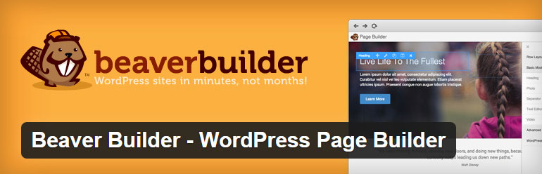Beaver Builder WordPress free Page Builder plugin