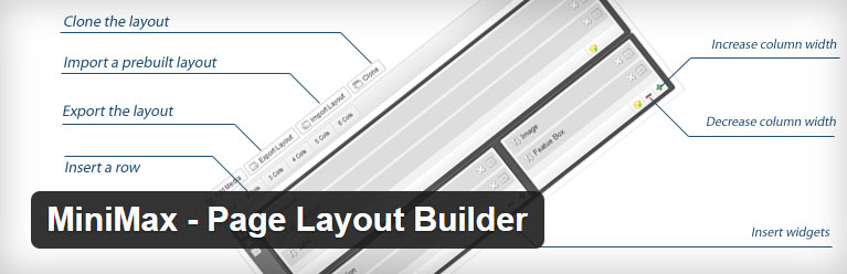 MiniMax – Page Layout Builder free page builder plugin for WordPress