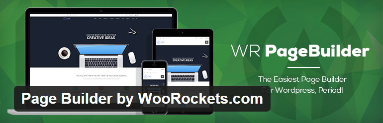 Page Builder by WooRockets.com free layout builder wordpress plugin