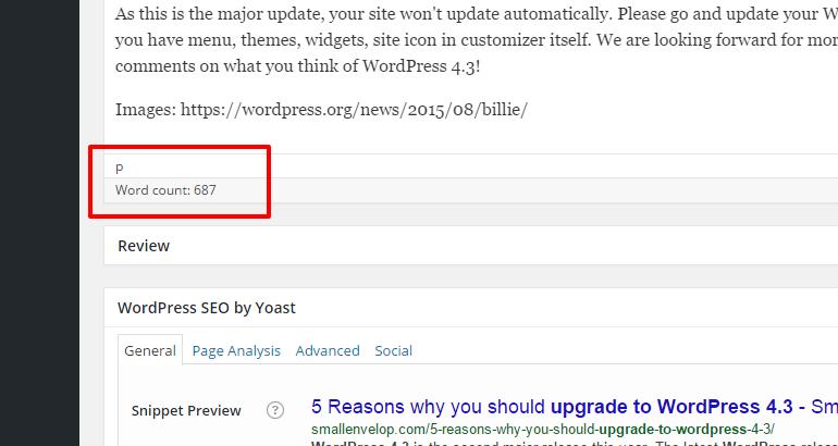 upgrade to latest WordPress