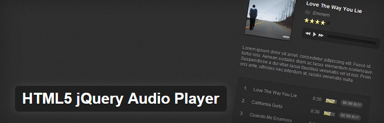 20 HTML5 Audio Players for Websites