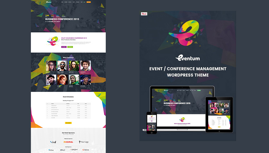 7+ Creative WordPress Themes For Conferences and Events 2016 ...