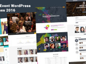 List of WordPress themes for conferences and events