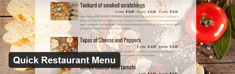Qucik-Restaurant-Menu