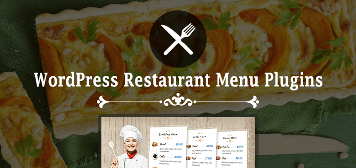 WordPress restaurant menu plugins