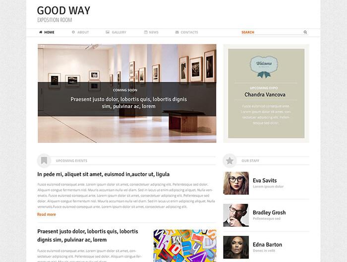 Art Expo Room WordPress Theme