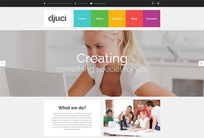 Web Design WordPress Theme
