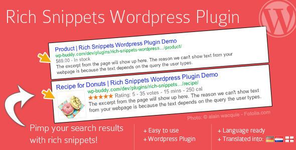 Rich Snippet WordPress Plugin