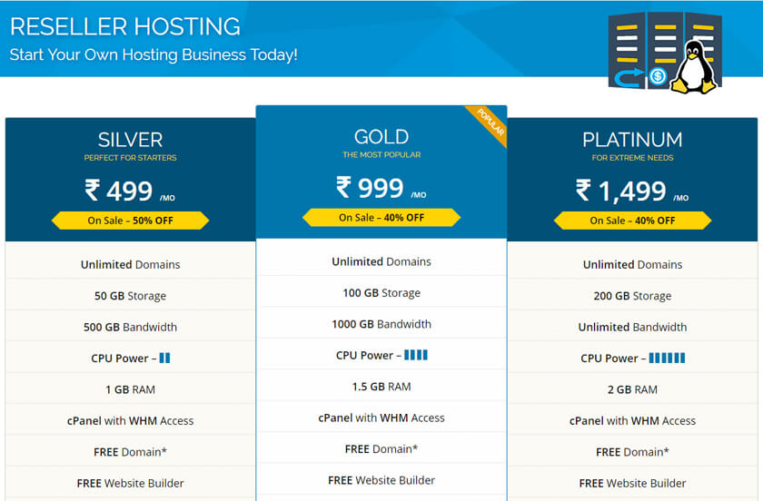 Resell Hosting