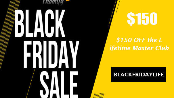 Themify $150 OFF the Lifetime Master Club