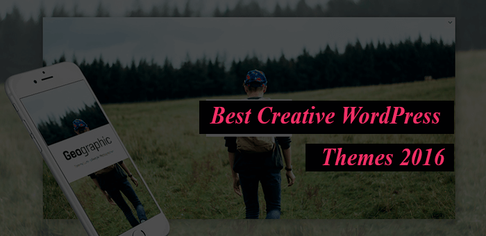 Best New Creative WordPress Themes for Businesses and Creatives 2016