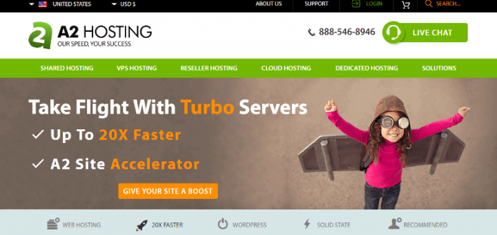A2 Hosting Review: The Fastest Web Hosting
