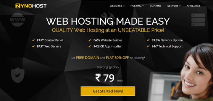 ZynoHost Review : Quality Budget Web Hosting