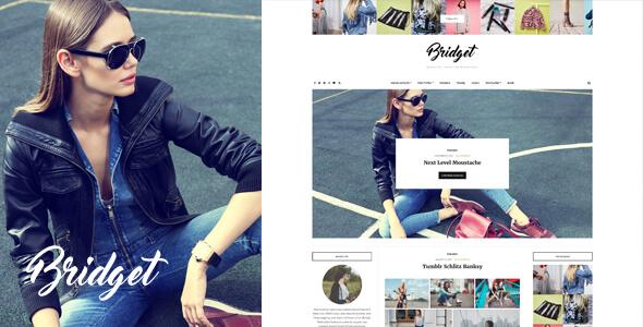 best fashion blog WordPress theme