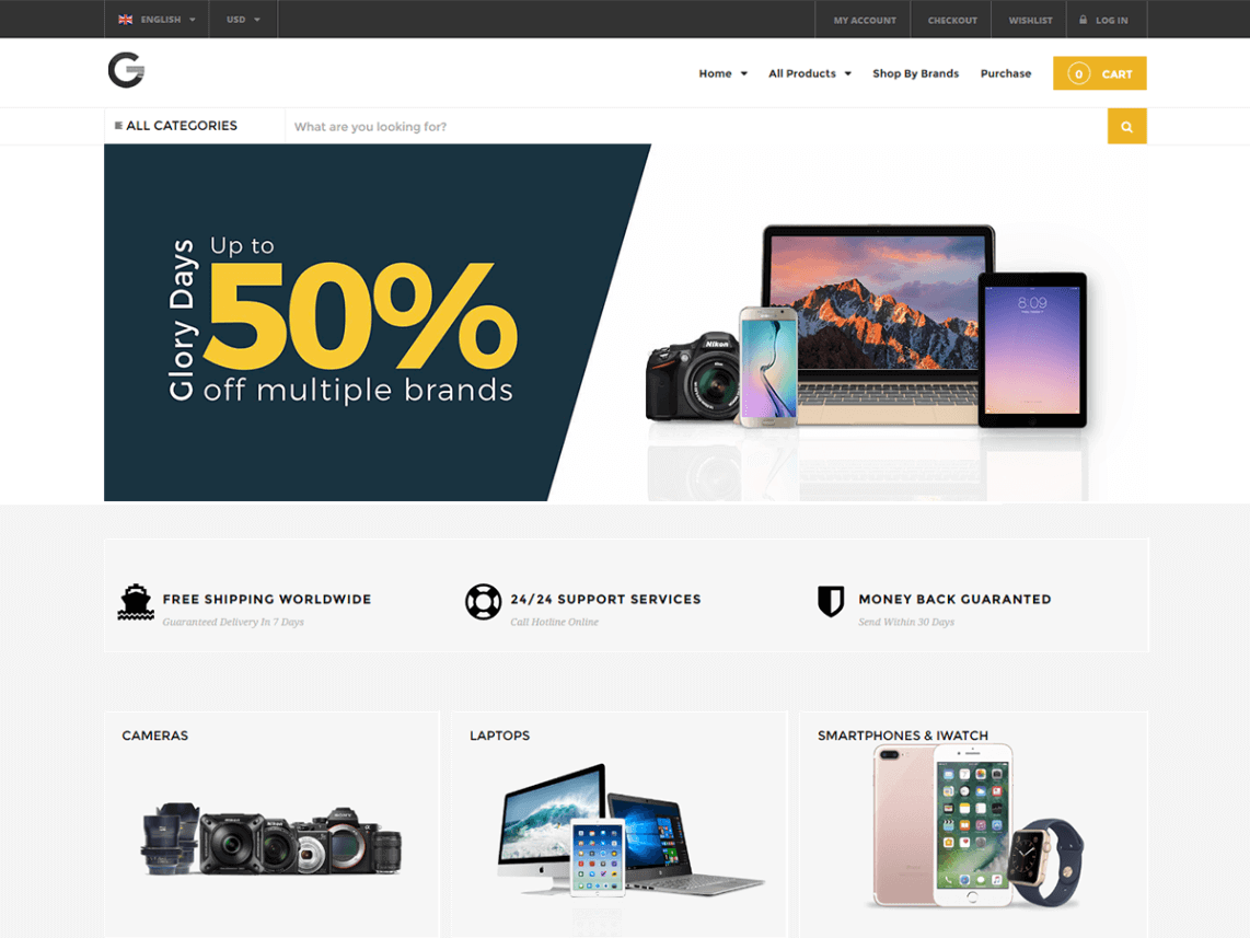 Grand Popo WordPress theme