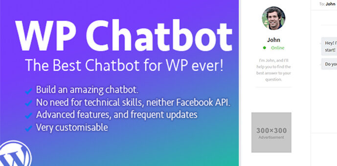 WP Chatbot – WordPress Chatbot Builder Plugin Review