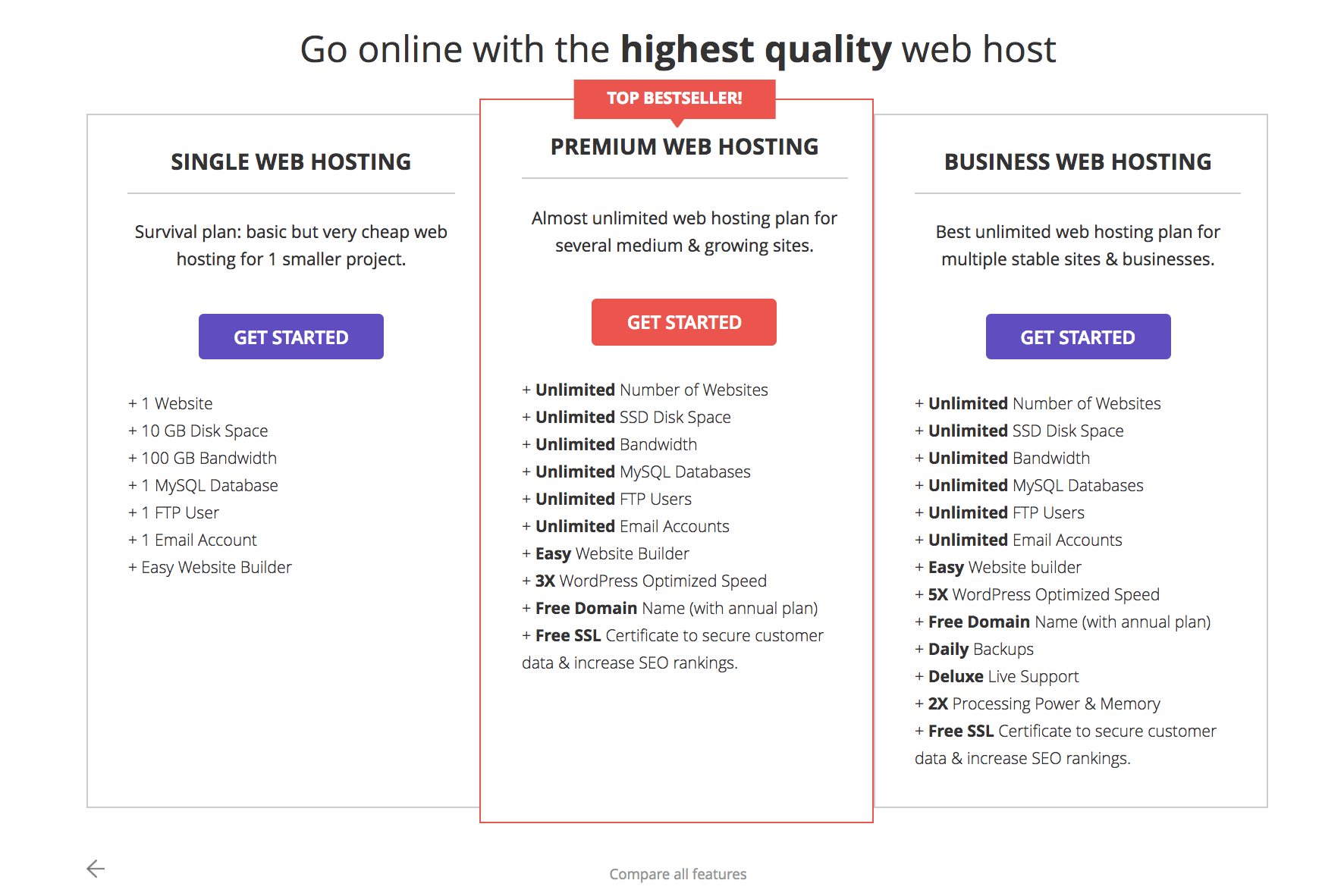 Hostinger - A High Quality Affordable Web Hosting - SmallEnvelop