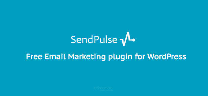 SendPulse Email Marketing plugin for WordPress